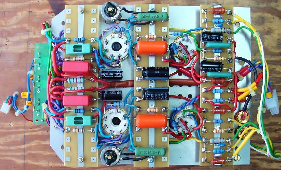 4. Płyta układu wysterowania oraz stopnia mocy wyjściowej..JPG