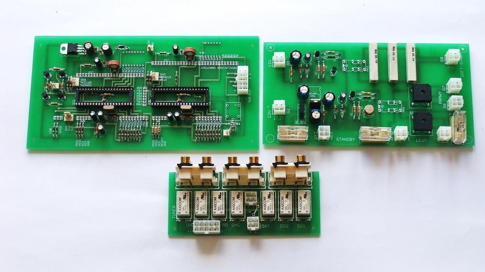 5) Układy wspomagające, sterownik, soft start, opóźniacz, płytka sygnałowa RCA.JPG